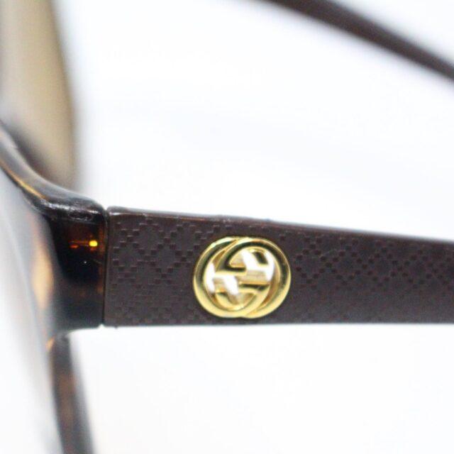 GUCCI 31226 Brown Semi Cat Eye Sunglasses 6