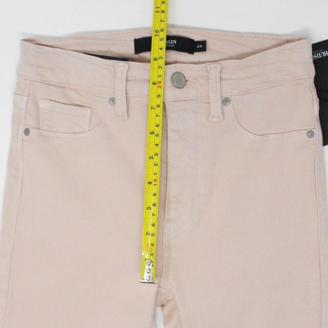 HUDSON 29279 Pink Barbara Super Skinny Pants NWT Size 24 4