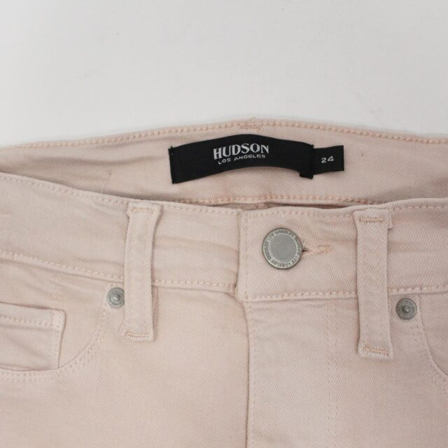 HUDSON 29279 Pink Barbara Super Skinny Pants NWT Size 24 5