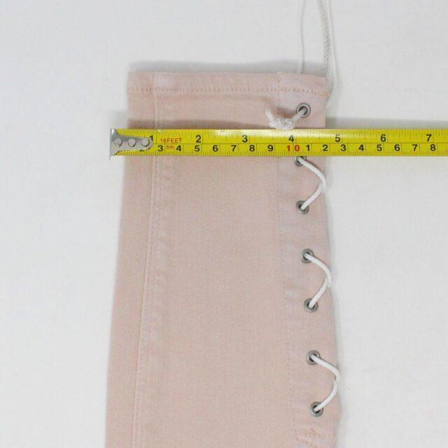 HUDSON 29279 Pink Barbara Super Skinny Pants NWT Size 24 6