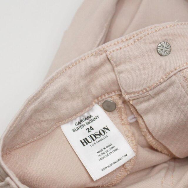 HUDSON 29279 Pink Barbara Super Skinny Pants NWT Size 24 7