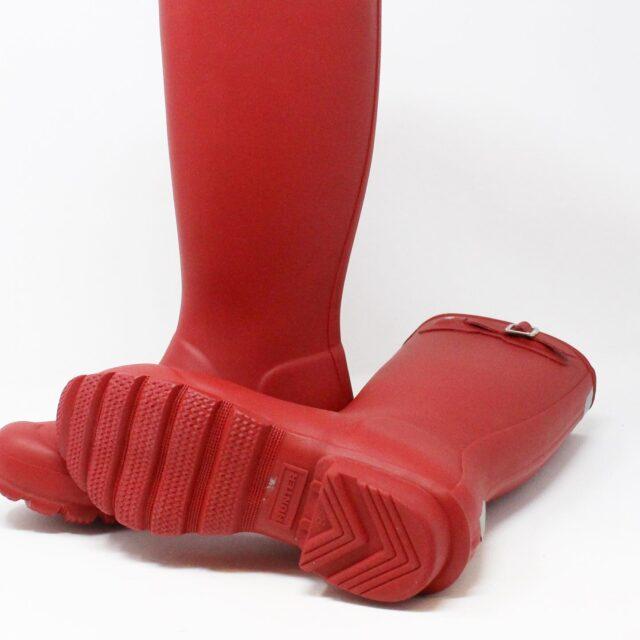 HUNTER 31357 Red Rainboots US 6 EU 36 4