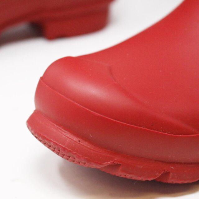 HUNTER 31357 Red Rainboots US 6 EU 36 5