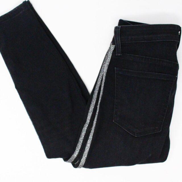 JOES 30183 Black Denim Charlie High Rise Skinny Ankle Jeans Size 26 1