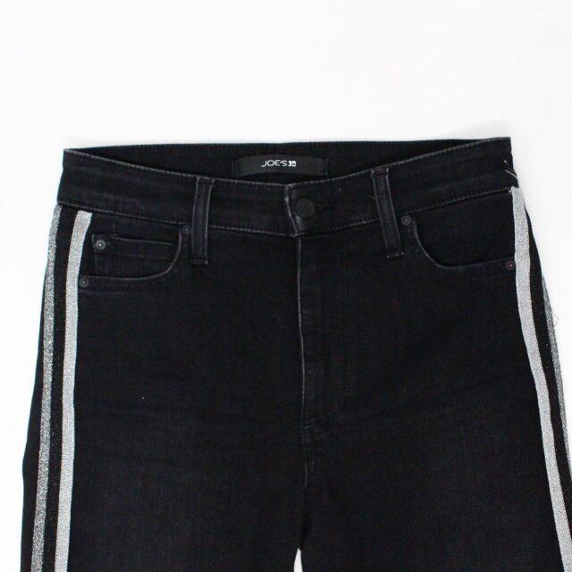 JOES 30183 Black Denim Charlie High Rise Skinny Ankle Jeans Size 26 2