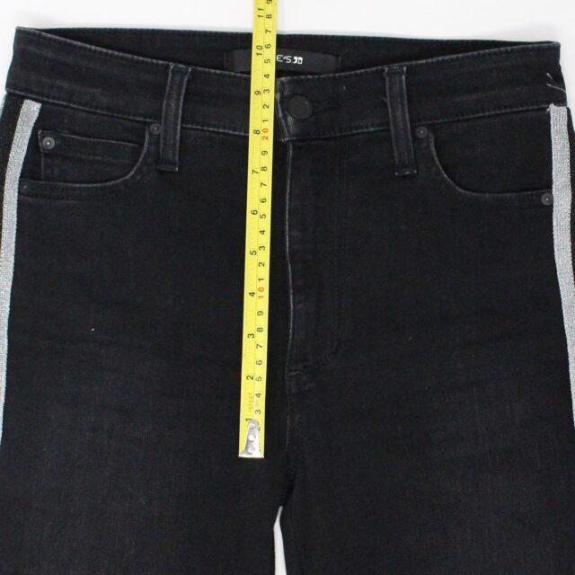 JOES 30183 Black Denim Charlie High Rise Skinny Ankle Jeans Size 26 3