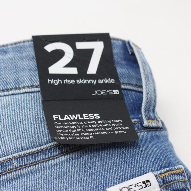 JOES 30551 Flawless High Rise Skinny Ankle Jeans NWT Size 27 7