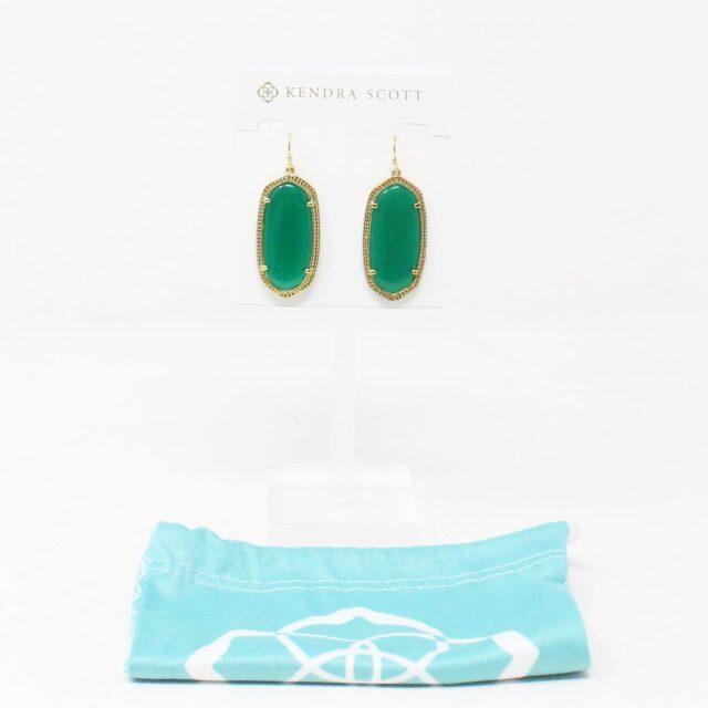 KENDRA SCOTT 31309 Emerald Elle Earrings 1