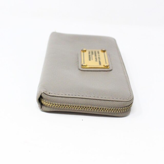 MARC BY MARC JACOBS 31286 Grey Leather Wallet 3