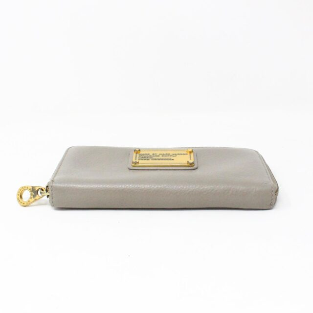 MARC BY MARC JACOBS 31286 Grey Leather Wallet 4