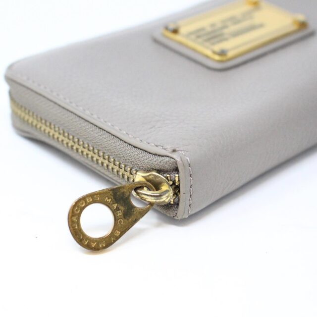 MARC BY MARC JACOBS 31286 Grey Leather Wallet 5