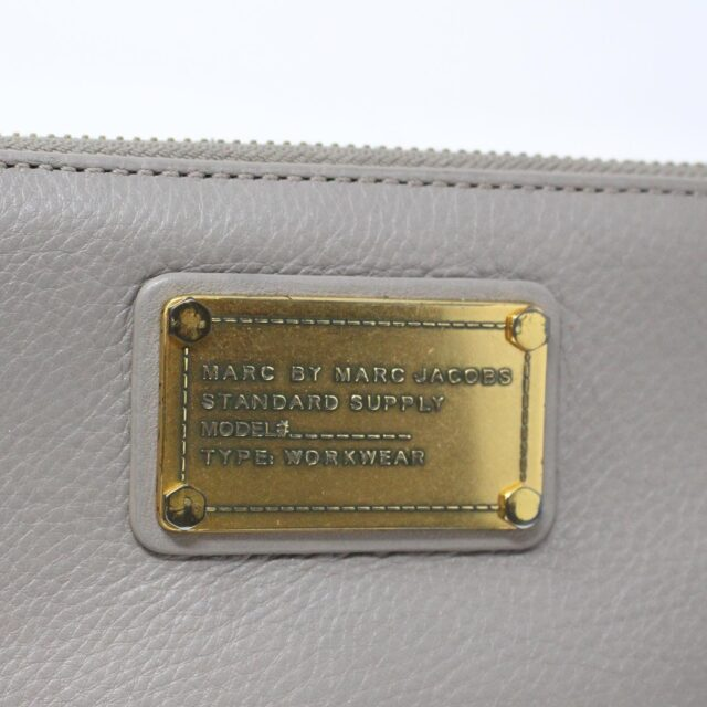 MARC BY MARC JACOBS 31286 Grey Leather Wallet 6