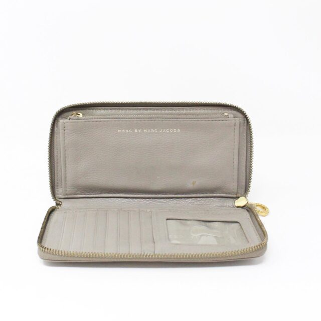 MARC BY MARC JACOBS 31286 Grey Leather Wallet 7