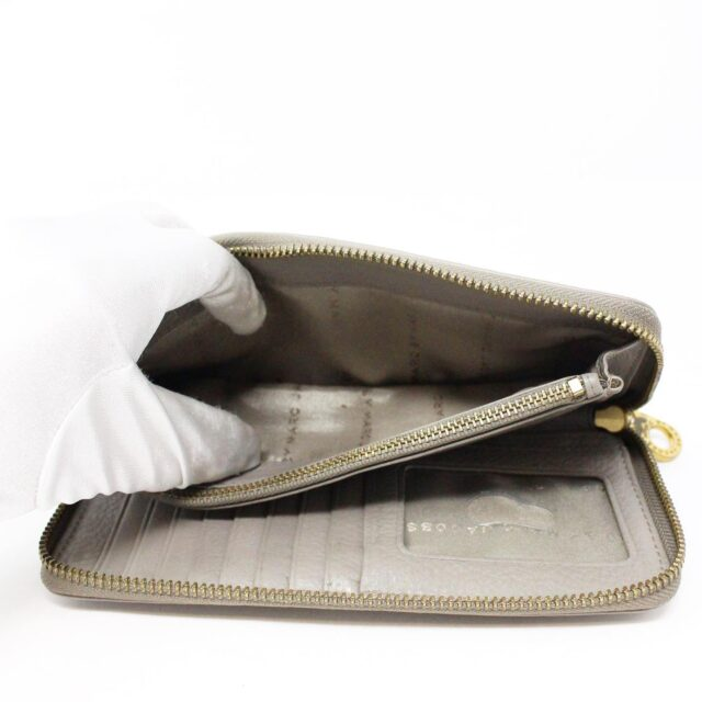 MARC BY MARC JACOBS 31286 Grey Leather Wallet 9