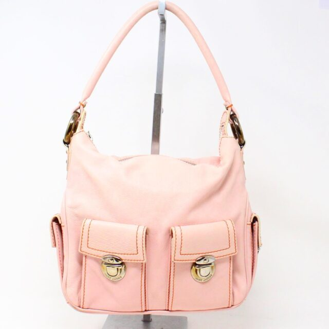 MARC JACOBS 31345 Pink Leather Stella Bag 1