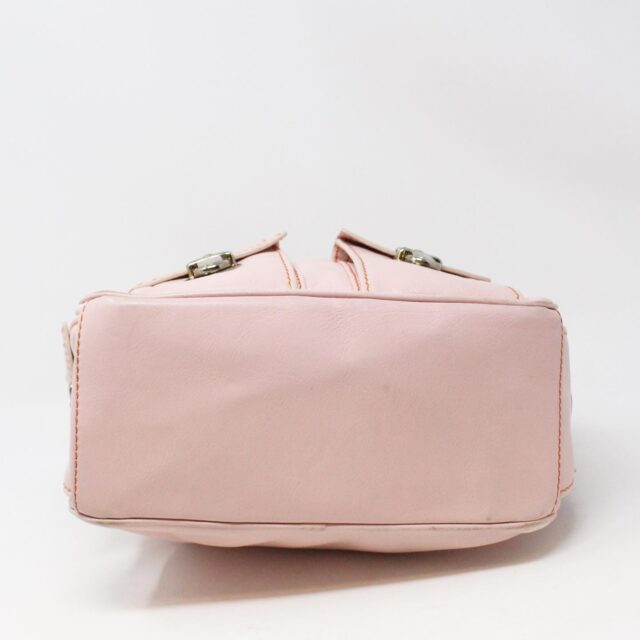 MARC JACOBS 31345 Pink Leather Stella Bag 3