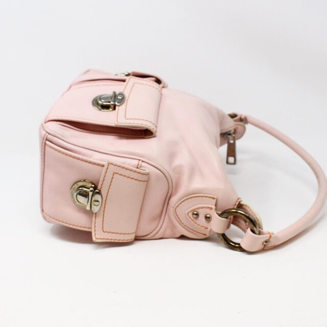 MARC JACOBS 31345 Pink Leather Stella Bag 4