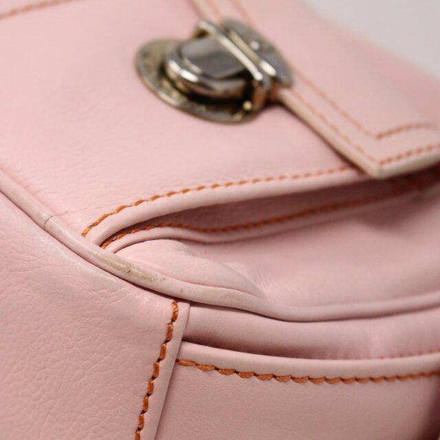 MARC JACOBS 31345 Pink Leather Stella Bag 7