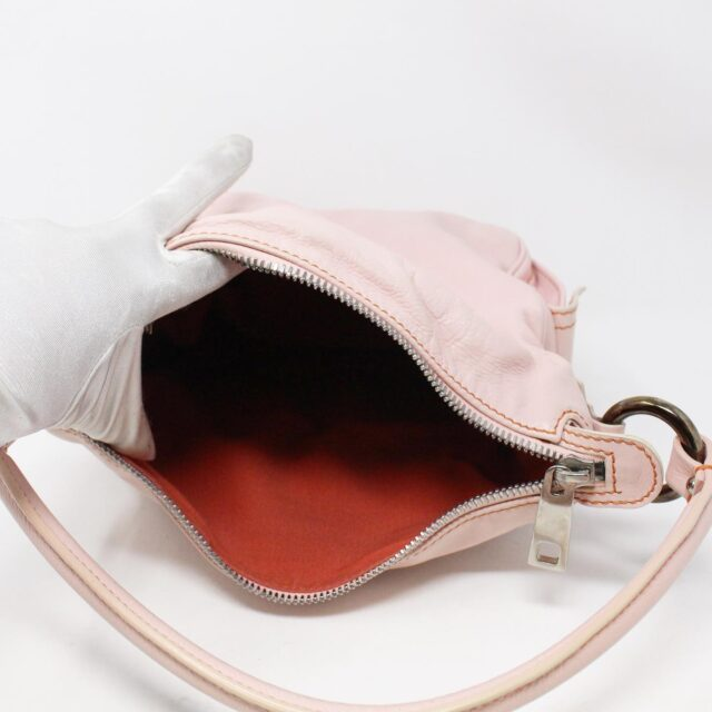 MARC JACOBS 31345 Pink Leather Stella Bag 8