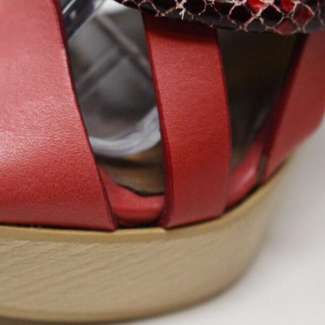 NANETTE LEPORE 30215 Red Strappy Heels US 6 EU 36 10