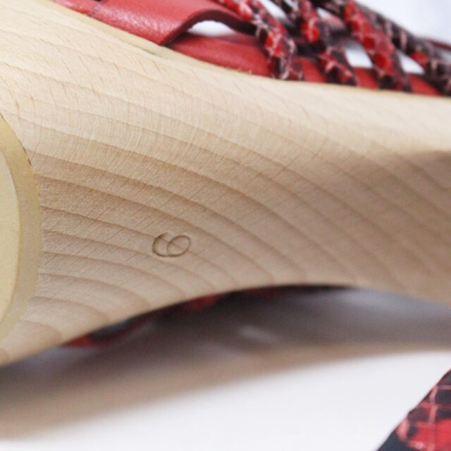 NANETTE LEPORE 30215 Red Strappy Heels US 6 EU 36 7