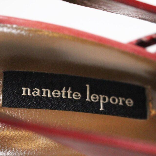 NANETTE LEPORE 30215 Red Strappy Heels US 6 EU 36 8