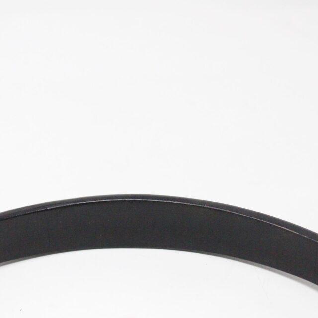 SERGIO ROSSI 31265 Black Leather Clutch 9