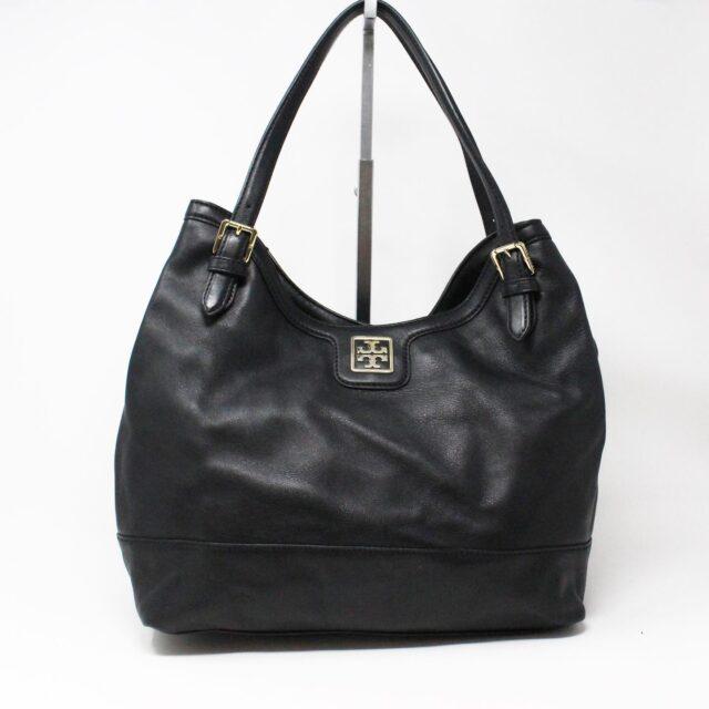 TORY BURCH 31225 Black Leather Shoulder Bag 1