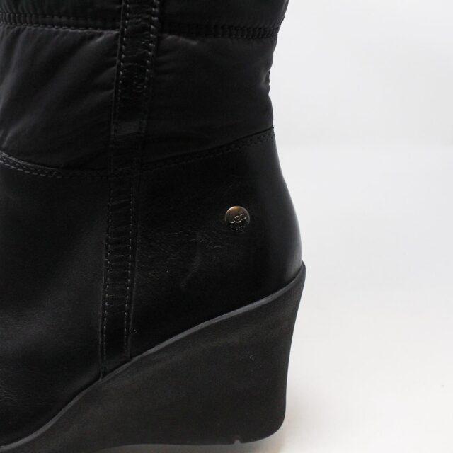 UGG 31351 Black Nylon Long Boots US 7 EU 37 10