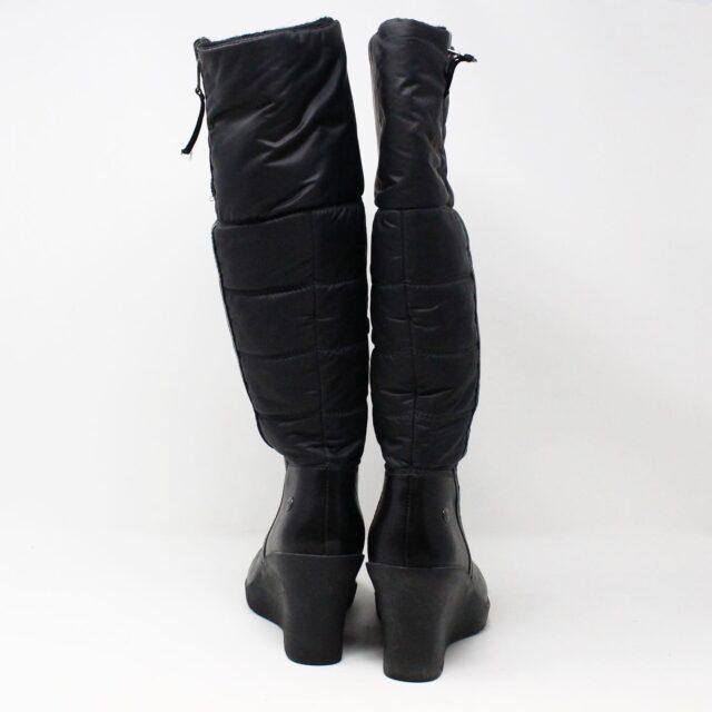 UGG 31351 Black Nylon Long Boots US 7 EU 37 3