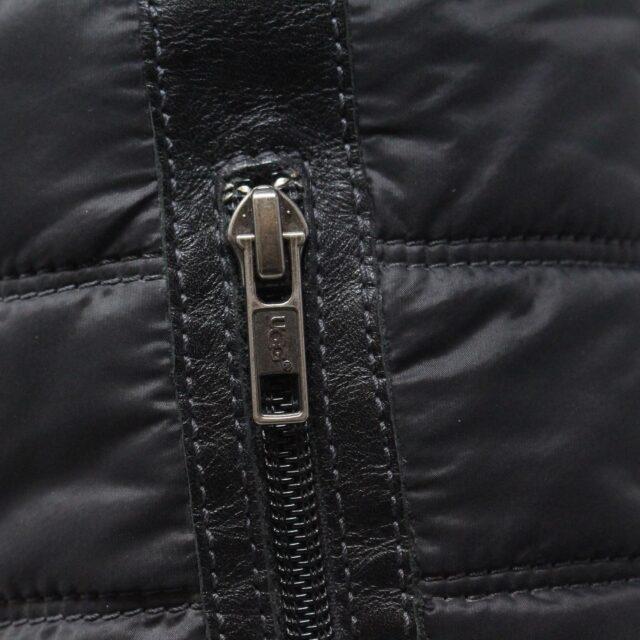 UGG 31351 Black Nylon Long Boots US 7 EU 37 9
