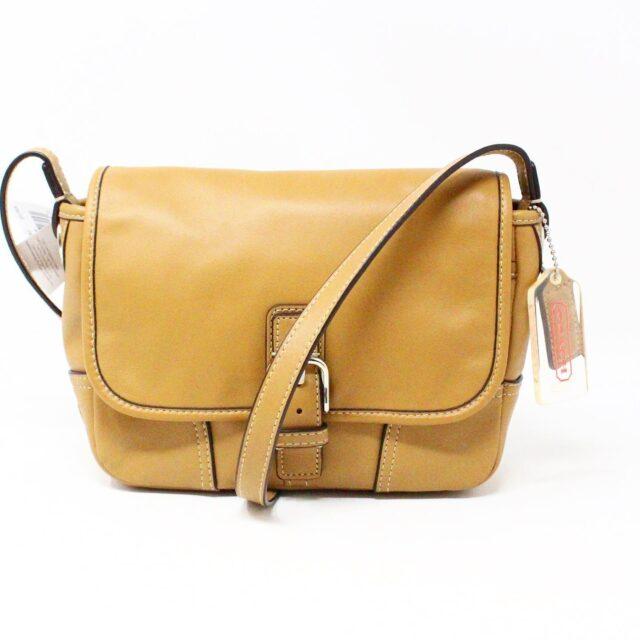 COACH 31546 Tan Leather Crossbody NWT 1