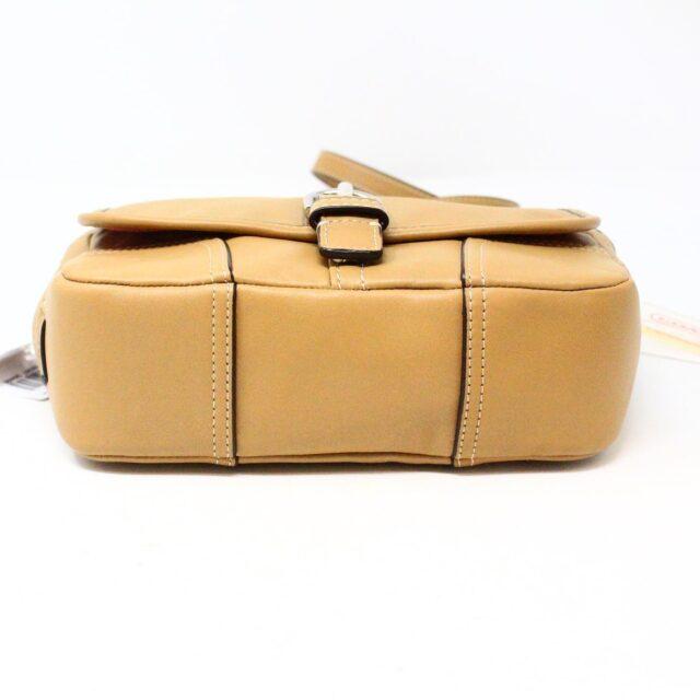 COACH 31546 Tan Leather Crossbody NWT 4