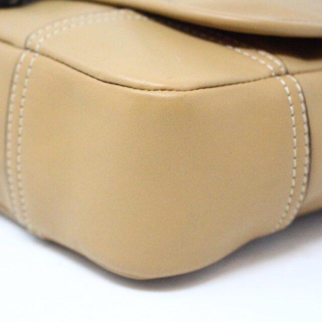 COACH 31546 Tan Leather Crossbody NWT 5