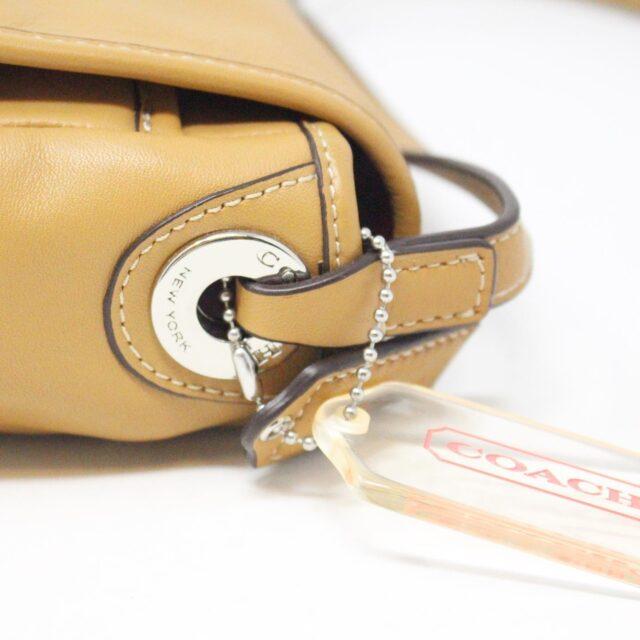 COACH 31546 Tan Leather Crossbody NWT 6