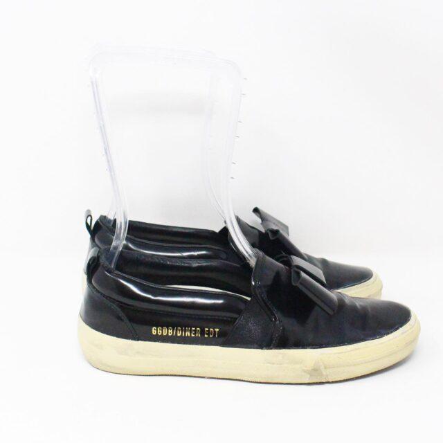 GOLDEN GOOSE 31692 Black Sneakers US 6 EU 36 2