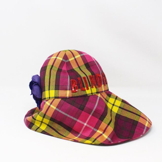 GUCCI 31535 Pink Wool Checker Bucket Hat Special Edition NWT 2