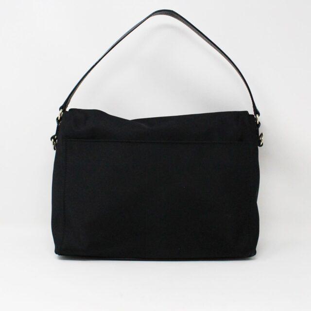 KATE SPADE 31453 Black Nylon Avenue Messenger Bag 3