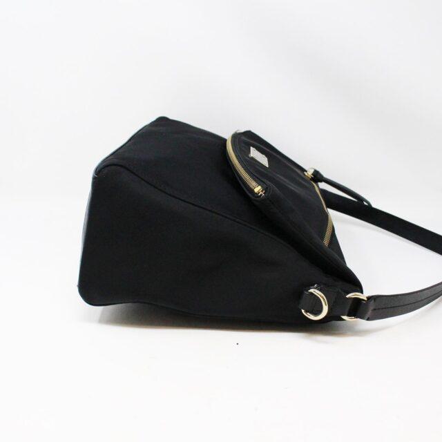 KATE SPADE 31453 Black Nylon Avenue Messenger Bag 4