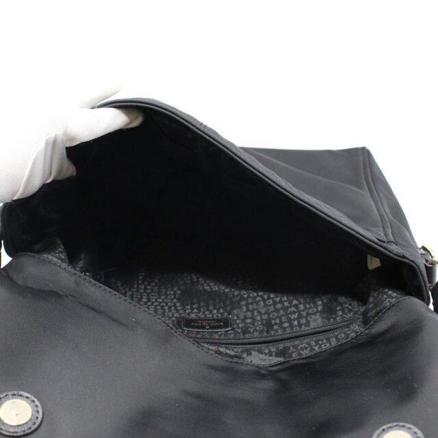 KATE SPADE 31453 Black Nylon Avenue Messenger Bag 6