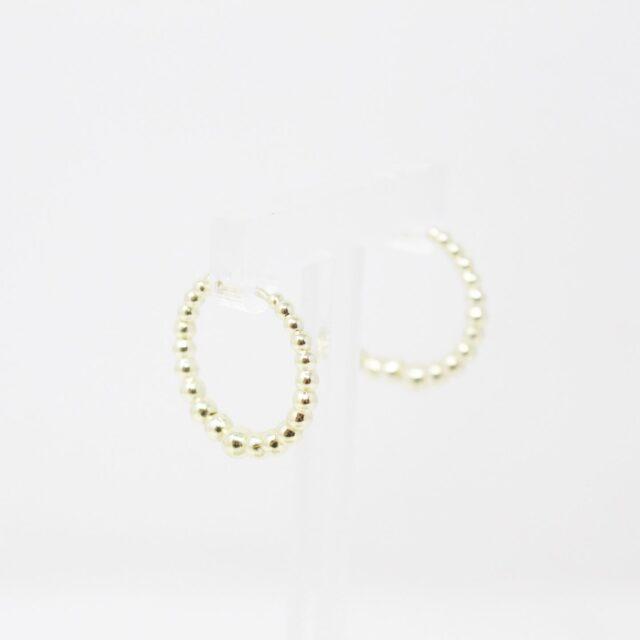 KENDRA SCOTT 31483 Josie Tapered Bead Hoop White Earrings 3