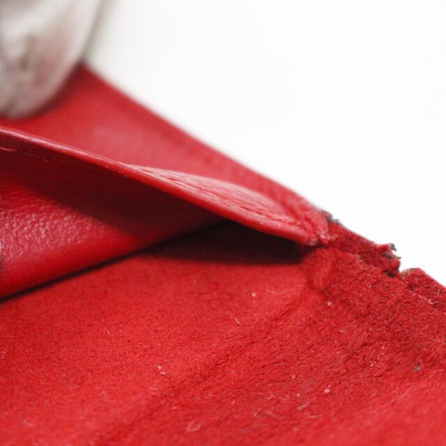 LOUIS VUITTON 31445 Red Empreinte Leather Phone Case iPhone 11 X XS 9