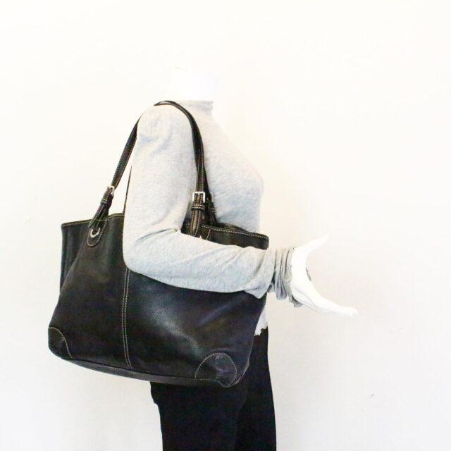 MICHAEL KORS 31545 Black Leather Tote 10