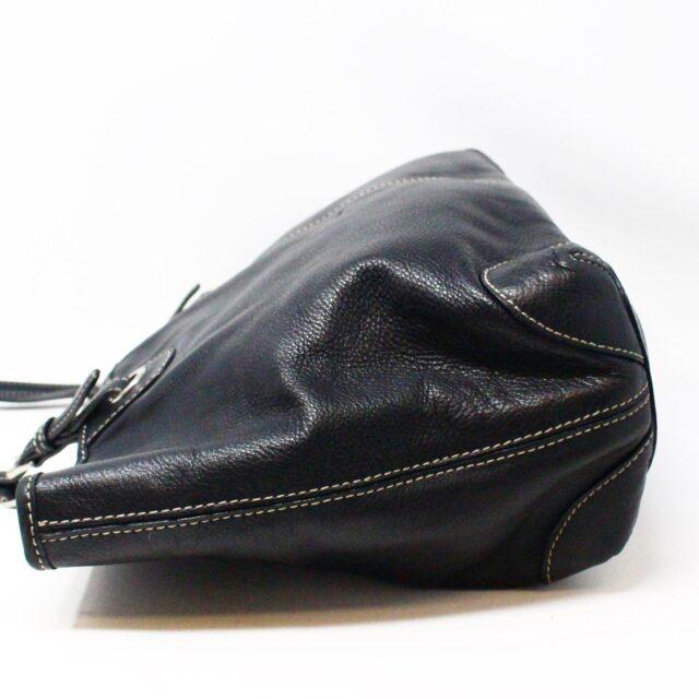 MICHAEL KORS 31545 Black Leather Tote 3