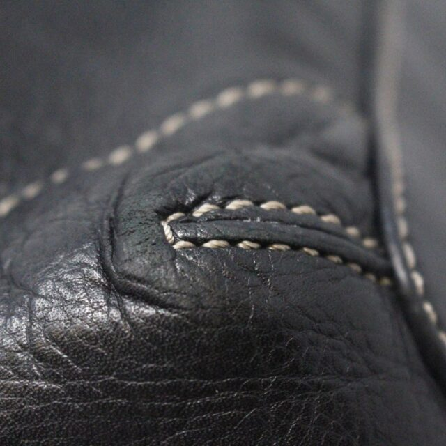 MICHAEL KORS 31545 Black Leather Tote 5