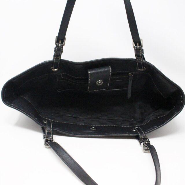 MICHAEL KORS 31545 Black Leather Tote 6