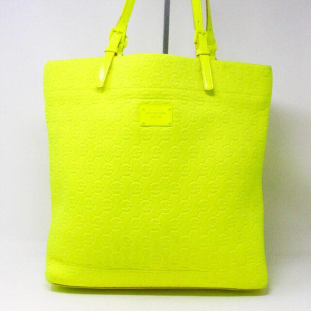 MICHAEL KORS 31628 Lime Neoprene Tote 1