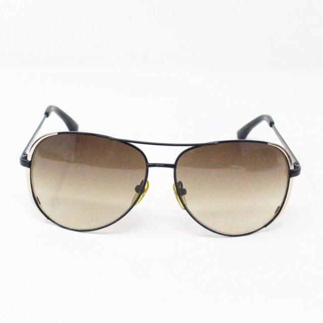 MICHAEL KORS 31696 Brown Black Aviator Sunglasses 2