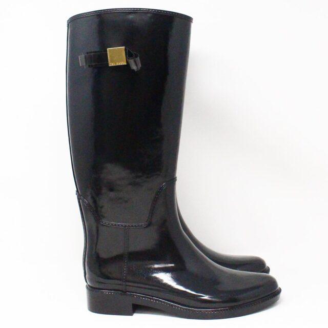 TED BAKER 31634 Black Tall Rain Boots 2
