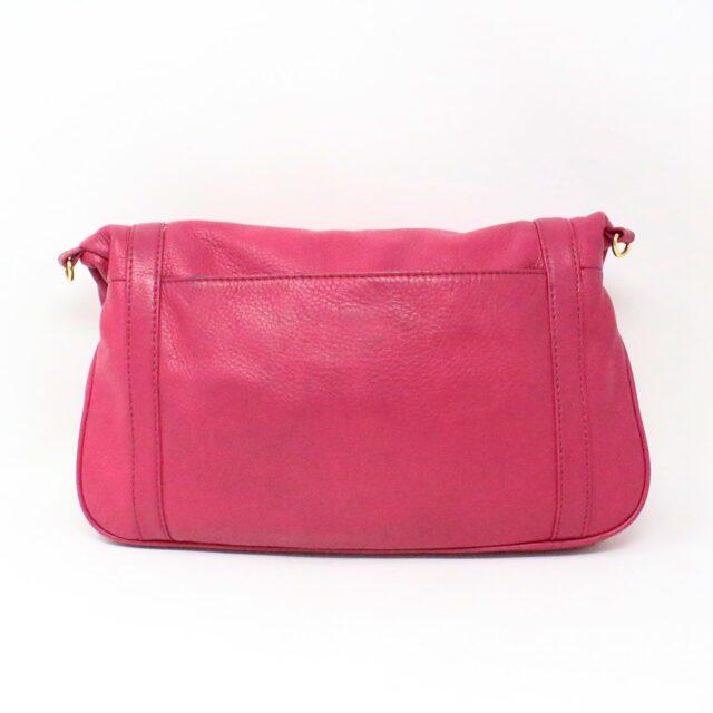 TORY BURCH 31431 Pink Leather Amanda Clutch Crossbody Wallet SET 2